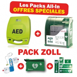 DEFIBRILLATEUR ZOLL - PACK COMPLET