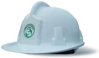 Autocollant SST pour casque de chantier