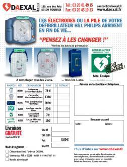 Batterie défibrillateur HS1 Philips