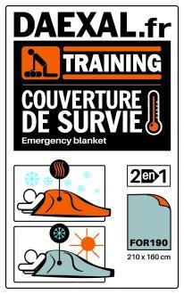 COUVERTURE DE SURVIE (x3)