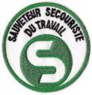 Ecusson SST brodé