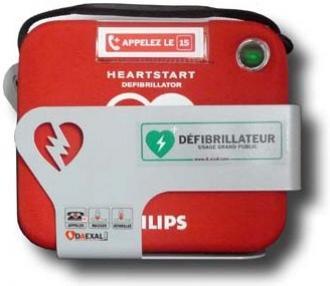 Kit d�fibrillateur HS1 + housse + support mural + signal�tique
