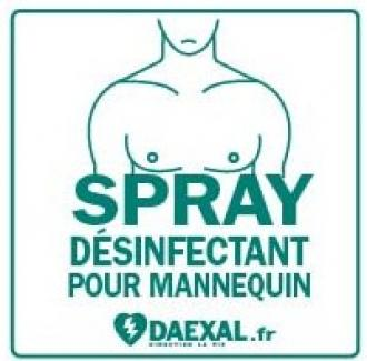 Kit de désinfection DAEXAL Mannequin secourisme