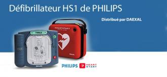 Kit défibrillateur HeartStart HS1 avec Housse
