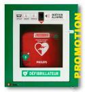 KIT PROMOTION  Armoire + défibrillateur HS1 PHILIPS