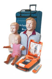 KIT Mannequins PSC1-SST   Défibrillateur de formation CARDIAC SCIENCE