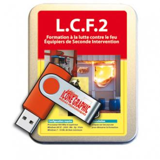 LA CLE USB L.C.F 2 - EQUIPIERS DE SECONDE INTERVENTION