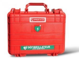 Malette étanche et antichoc pour défibrillateur HS1 PHILIPS