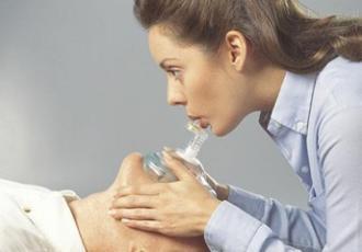 Masque de poche pour bouche à bouche