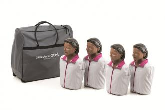 Pack de 4 Little Anne QCPR version noire