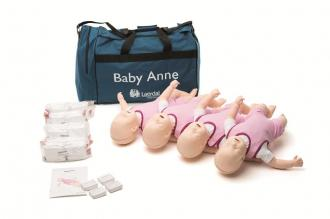 Pack de 4 mannequins de formation BABY ANNE