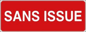 Panneau Sans Issue  - PVC 200x75mm