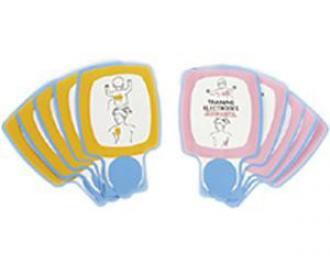 Electrodes enfant pour Lifepak CR Plus  de formation